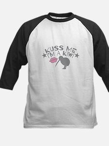 Kuss me Im a KIWI (Kiss in a cute accent) Baseball