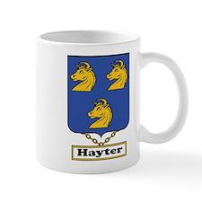 Hayter Family Crest Mugs