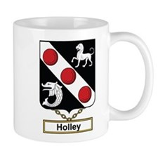 Holley Family Crest Mugs