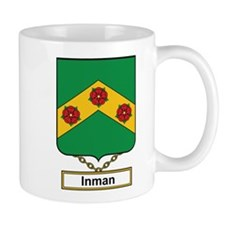 Inman Family Crest Mugs