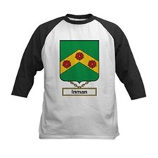 Inman Family Crest Baseball Jersey