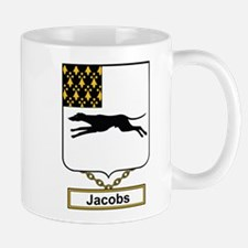 Jacobs Family Crest Mugs