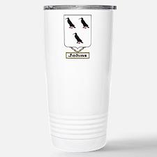 Johns Family Crest Travel Mug