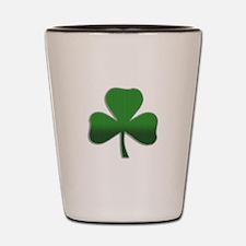 Irish Shamrock Shot Glass