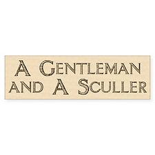 Gent. & Sculler Bumper Bumper Sticker