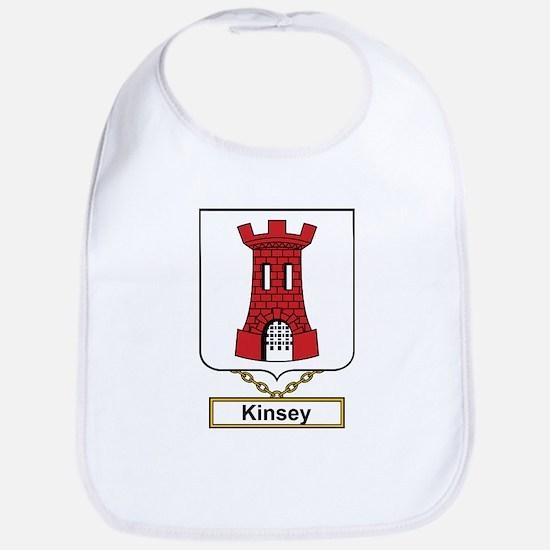 Kinsey Family Crest Bib