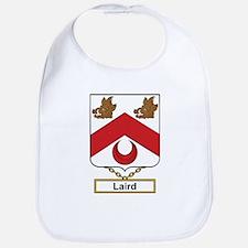 Laird Family Crest Bib