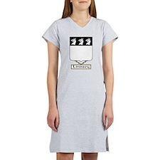 Lindsey Family Crest Women's Nightshirt