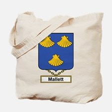 Mallett Family Crest Tote Bag