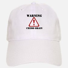 Warning Chemo Brain Baseball Baseball Cap