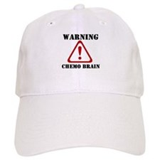 Warning Chemo Brain Hat
