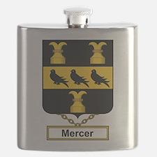 Mercer Family Crest Flask