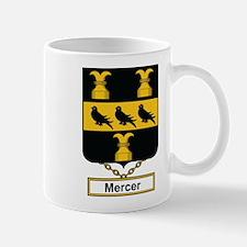 Mercer Family Crest Mugs