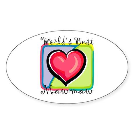 WB Grandma [Cajun] Oval Sticker