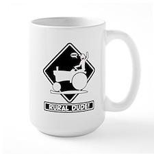 BLACK RURAL PLACARD 3t Mugs