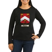 Myles Family Crest Long Sleeve T-Shirt