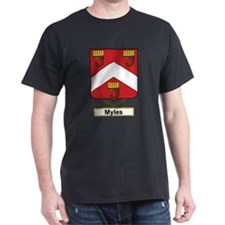 Myles Family Crest T-Shirt