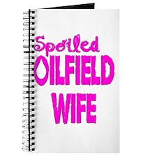 Spoiled Oilfield Wife Pink Journal