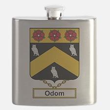 Odom Family Crest Flask