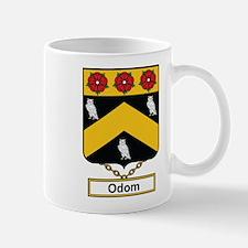 Odom Family Crest Mugs