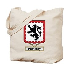 Pomeroy Family Crest Tote Bag