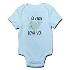 Whaley Love You Infant Bodysuit