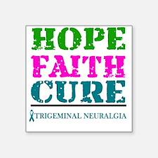 Hope Faith Cure Trigeminal Neuralgia Sticker