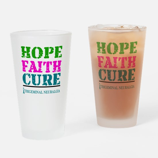 Hope Faith Cure Trigeminal Neuralgia Drinking Glas