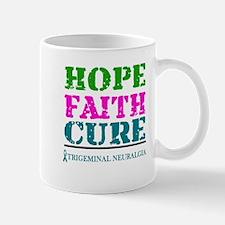 Hope Faith Cure Trigeminal Neuralgia Mugs