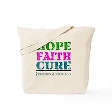 Hope Faith Cure Trigeminal Neuralgia Tote Bag