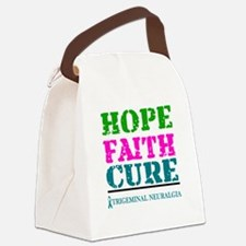 Hope Faith Cure Trigeminal Neuralgia Canvas Lunch