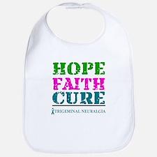 Hope Faith Cure Trigeminal Neuralgia Bib