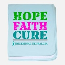 Hope Faith Cure Trigeminal Neuralgia baby blanket