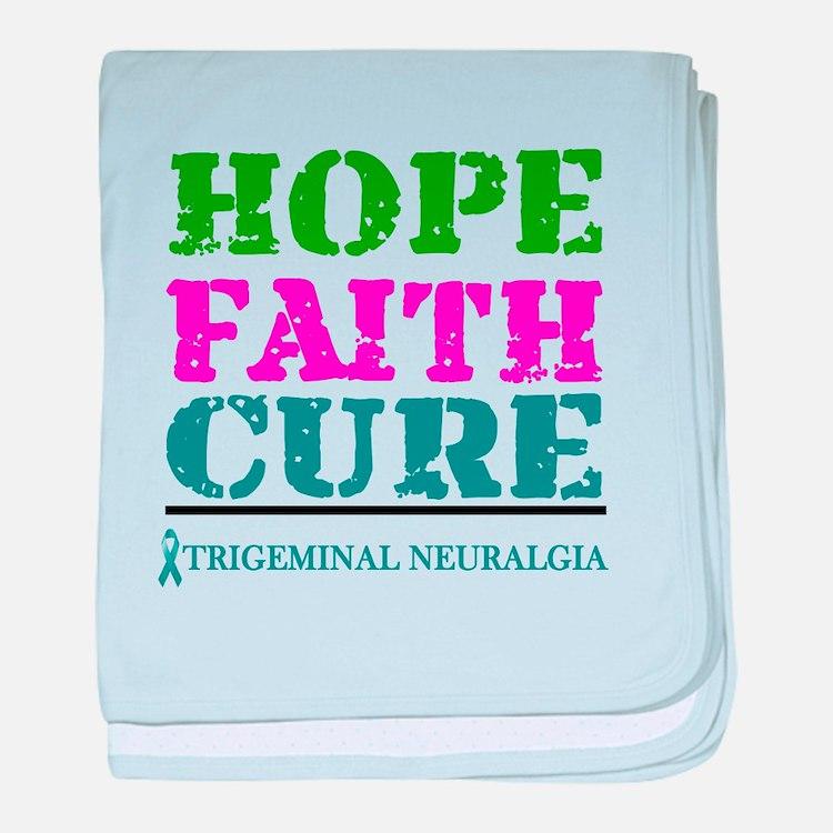 Hope Faith Cure Trigeminal Neuralgia baby blanket