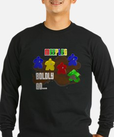 Meeple Trek DF Long Sleeve T-Shirt