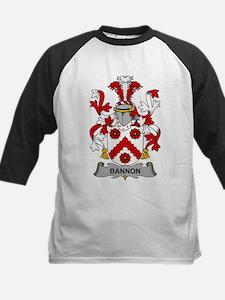 Bannon Family Crest Baseball Jersey