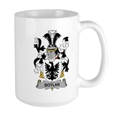 Boylan Family Crest Mugs