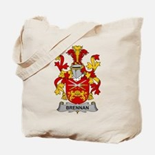 Brennan Family Crest Tote Bag