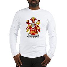 Brennan Family Crest Long Sleeve T-Shirt