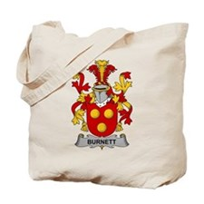 Burnett Family Crest Tote Bag