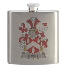 Byrne Family Crest Flask