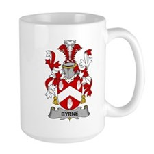 Byrne Family Crest Mugs