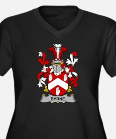 Byrne Family Crest Plus Size T-Shirt