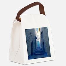 Chefchaouen Canvas Lunch Bag