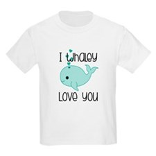 Whaley Love You T-Shirt