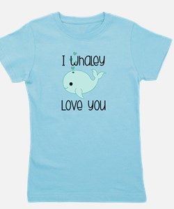 Whaley Love You Girl's Tee