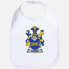 Carrie Family Crest Bib