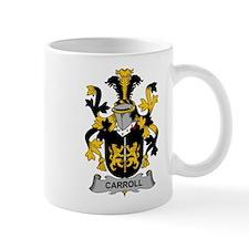 Carroll Family Crest Mugs