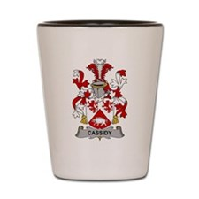 Cassidy Family Crest Shot Glass