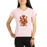 Clary Family Crest Performance Dry T-Shirt